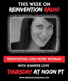 LIVE ON AIR with Jennifer Love for Reinventing One More Woman. She's helping woman globally come together and changing the power and dynamics of wealth by helping 10M women entrepreneurs reach over $1M in her biz to by 2030. Jennifer's been featured in the New York Times, National Geographic, Huffington Post, Time, Shark Tank, Entrepreneur, just to name a few. JOIN US LIVE NOW: http://reinventionradio.com/ #reinventionradio #onemorewoman #10millionwomenentrepreneurs #helpingwomenglobally
