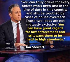 jon stewart law enforcement