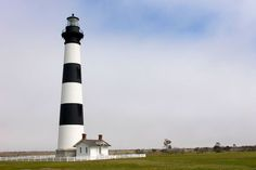 Bodie Lighthouse in the Outer Banks, North Carolina.