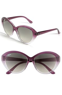 Ray-Ban Retro Cat's Eye Sunglasses @ Nordstrom - WANT!!!