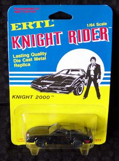 David Hasselhoff's best pal, Kitt. Retro Toys, Vintage Toys, Old Sports Cars, 80 Tv Shows, Childhood Toys, Childhood Memories, Classic Cartoon Characters, Old School Toys, Hot Wheels Cars
