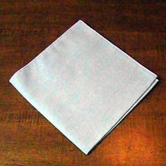 Complete instructions on how to make a classic fold for use with napkin rings. Napkin Ring Folding, Napkin Rings, Napkins, Thanksgiving, Classic, How To Make, House, Ideas, Derby