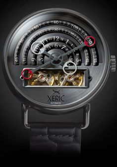 Xeric Watches - Halograph Automatic Gunmetal, $500.00 (http://www.xericwatches.com/halograph-automatic-gunmetal/)