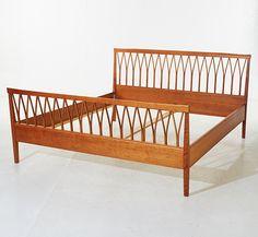 Swedish Design, Nordic Design, Cool Furniture, Furniture Design, Scandi Style, Bedroom Bed, Stockholm, Bedding, House