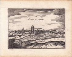 Gravure-XVIIe-Saint-Jean-d-039-Angely-Charente-Maritime-Christophe-Tassin-1634