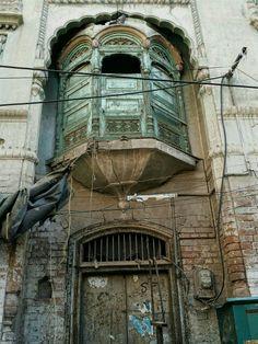 Raj Kapoor's Peshawar home falling apart in Peshawar Pakistan, Falling Apart, Buildings, Places To Visit, Tours, Architecture, City, Flowers, Travel