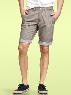 Gap - Khaki Roll Up Short - $39.99 - Click on the image to shop now