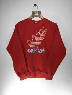 Retro Reflex - home to vintage and retro designer clothing. Adidas  Sweatshirt Size Small 5e9fcd97ec99