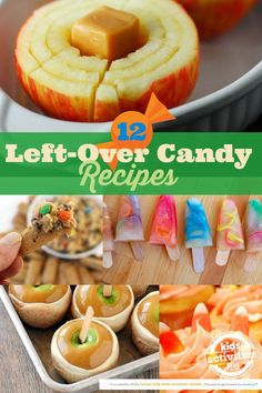 12 Left-over Candy Recipes----omitting PB, of course!