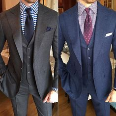 Instagram media by gentsplaybook - There will never come a day where a 3Piece suit is out of style. #timeless