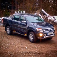 #4x4accessories1 #aluminum #roller #lid #shutter #new #Ford #Ranger #T6 #2012+ #double #cab #winter #beauty @4x4accessories. Only #http://www.accessories-4x4.com
