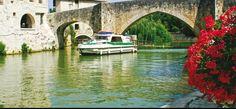 Tourisme fluvial sur la Baïse
