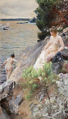 """Anders Zorn """"Sommar"""" 1887"""