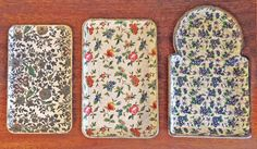 trio of trays #japanese paper trays