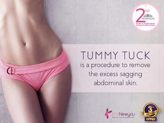 Washboard abs are stuff that dreams are made of! Well! no longer, a #TummyTuckSurgery can give you the shape you always wanted. #DreamComeTrue #TheNewYou #CosmeticTreatment #CosmeticSurgery
