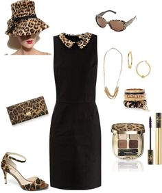 """""""Leopard Dress & Accessories"""" by gracehands on Polyvore"""
