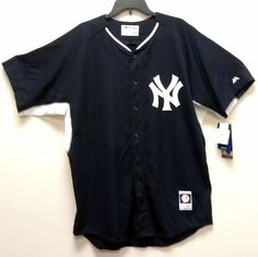 NEW/NWT - NY Yankees Majestic Cool Base Jerseys - Assorted Sizes MLB - New York #Majestic #NewYorkYankees