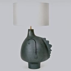 DaLo - Large Biomorphic Ceramic Lamp Base, contemporay  www.galerieriviera.com