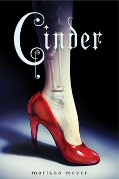 Cinder by Marissa Meyer.  As plague ravages the overcrowded Earth, observed by a ruthless lunar people, Cinder, a gifted mechanic and cyborg, becomes involved with handsome Prince Kai and must uncover secrets about her past in order to protect the world in this futuristic take on the Cinderella story.