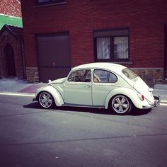 "VW Cox sur Fuchs 17 pouces VW Bug on 17"" Fuchs by Combicoxshop"