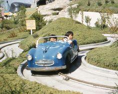 Vintage Photos: My Mom at Disneyland in 1958