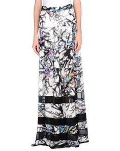 JUST CAVALLI Long skirt. #justcavalli #cloth #dress #top #skirt #pant #coat #jacket #jecket #beachwear #