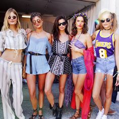 Pin for Later: The Best Style 'Grams From Coachella Weekend 1 —Straight From the Models and Stars Constance Jablonski, Taylor Hill, Sara Sampaio, Alessandra Ambrosio, and Josephine Skriver Were Casual-Cool