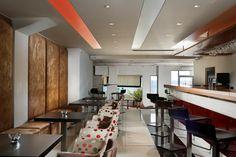 """""""ΕΥ ΖΗΝ"""" Restaurant for distinct flavors and unique dishes. City Resort, Lobby Bar, Luxury Accommodation, Beach Bars, Ground Floor, Hotel Offers, Chefs, Dining Area, Drinking"""