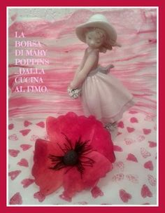 La borsa di Mary Poppins... dalla cucina al fimo: PAPAVERO IN WAFER- PAPER