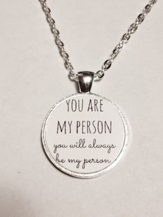 You Are My Person Quote Best Friend BFF por HeavenlyCharmed en Etsy