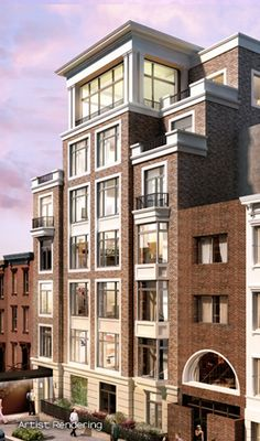 180 East Street is a new construction, LEED-certified condominium building on Manhattan's Upper East Side, offering luxu Building Exterior, Building Facade, Building Design, Building Ideas, Condo Design, Apartment Design, Facade Architecture, Residential Architecture, Condominium Architecture