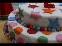 Cómo Poner Facil Fondant a un Pastel (Bien Explicado) - Madelin's Cakes - YouTube