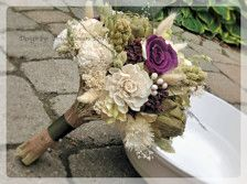 plum green brown and ivory wedding - Google Search