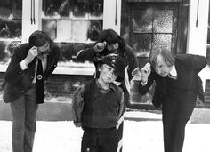 Lovely shot of the Goodies from Christmas 1972 Graeme Garden, Wikipedia Images, Brooke Taylor, Christmas Night, Picture Show, Little Boys, Tv Shows, Goodies, British