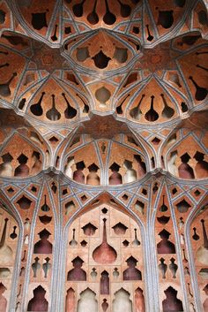 Ali Qapu, Music room, Isfahan, Iran