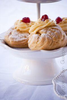 Mon petit bistrot: Zeppole di San Giuseppe..dal 4°numero di Open Kitchen Magazine!