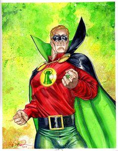 Alan Scott - Green Lantern by Mike S. Miller *
