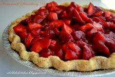 Homemade Strawberry Pie ~ Adapted from Cook's Country
