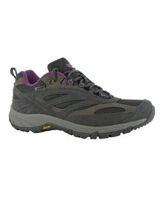 Another great find on #zulily! Nespresso & Purple Low Breathe Leather All-Terrain Shoe - Women by Hi-Tec #zulilyfinds $46.99, usually 100.00