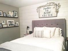 Farmhouse Style Decor Modern Master Bedroom