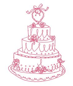 Alanna Cavanagh: Illustration: Wedding Cake