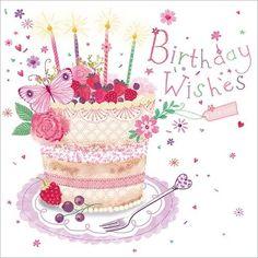 Birthday Wishes To You Happy Birthday Wishes Quotes, Birthday Wishes And Images, Happy Birthday Flower, Happy Birthday Beautiful, Happy Birthday Girls, Birthday Cards For Women, Happy Birthday Greetings, Birthday Pictures, Birthday Fun