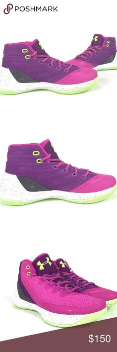 competitive price 55d95 b5f46 UNDER ARMOUR GS Curry3 Lunar Basketball Shoes These shoes are Brand NEW,  and Authentic they