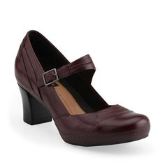 Mika Jane in Berry Leather from Clarks--bought these at a Clarks outlet yesterday. Love them!