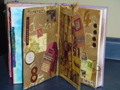 Altered Arts Magazine: Altered Books - Preview