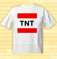 Cheap TNT Minecraft Quilt T-Shirt