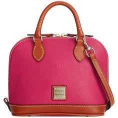 Dooney & Bourke Pebble Bitsy Bag ($178) ❤ liked on Polyvore