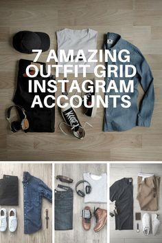 best Outfit Grid Instagram account follow #mens #fashion #outfit #grid #instagram