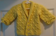 Sweet baby jacket by RenisDesignermodelle on Etsy
