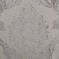 Gray Damask Cut-out Velvet